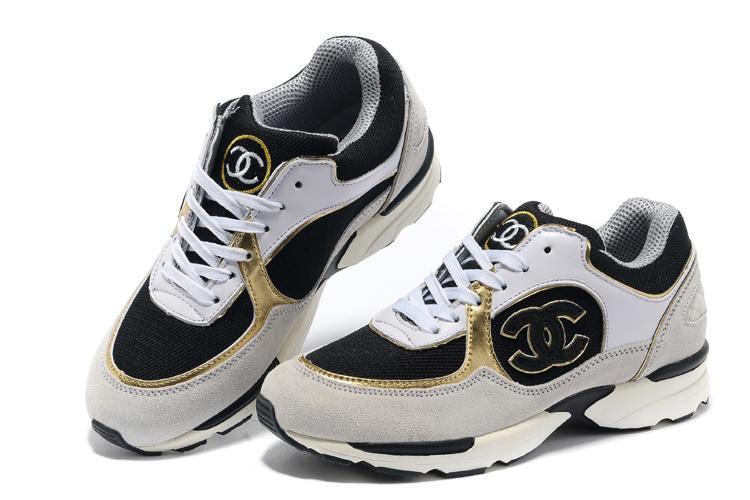 2014 chanel femmes sport chaussures classique basket ball pas cher noir blanc w nouveaux arrivee. Black Bedroom Furniture Sets. Home Design Ideas