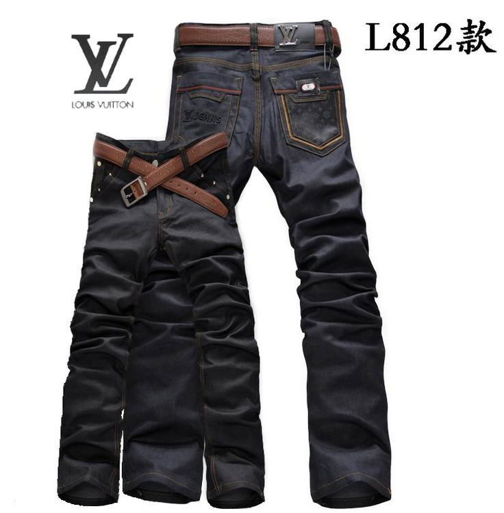 louis vuitton cotton summer jeans double fleche,jeans