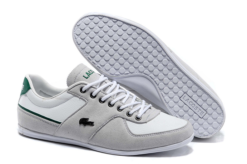 huge discount 4b0f3 ea121 lacoste platinum sneakers homme collection x foot locker 2233 blanc