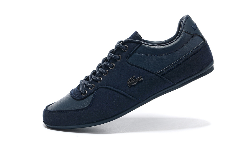 3cb15f76e18a ... Lacoste Platinum Sneakers homme Collection x Foot Locker 2233 Bleu