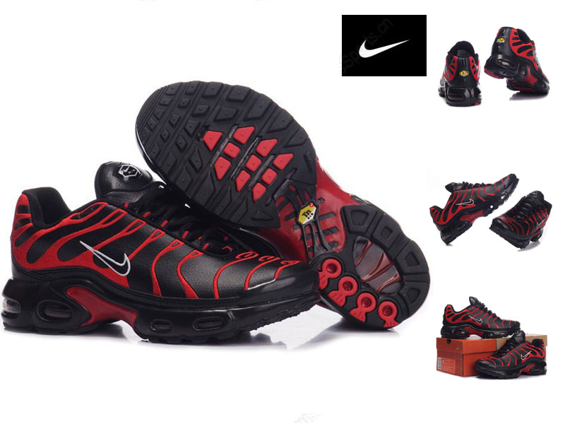 27ad46986f6 air tn requin chaussure broderie red noir nike basket tn nouveaux ...