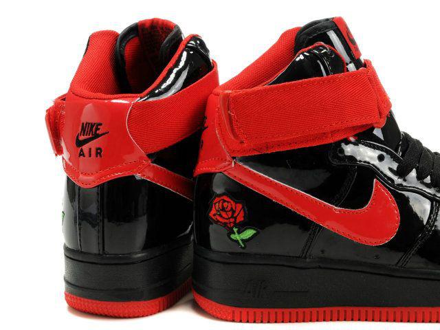 brand new 67941 dccc0 Nouveaux Rouge Femmes One Noir Air Force Nike Kids Chaussures nOx8PpqZY.