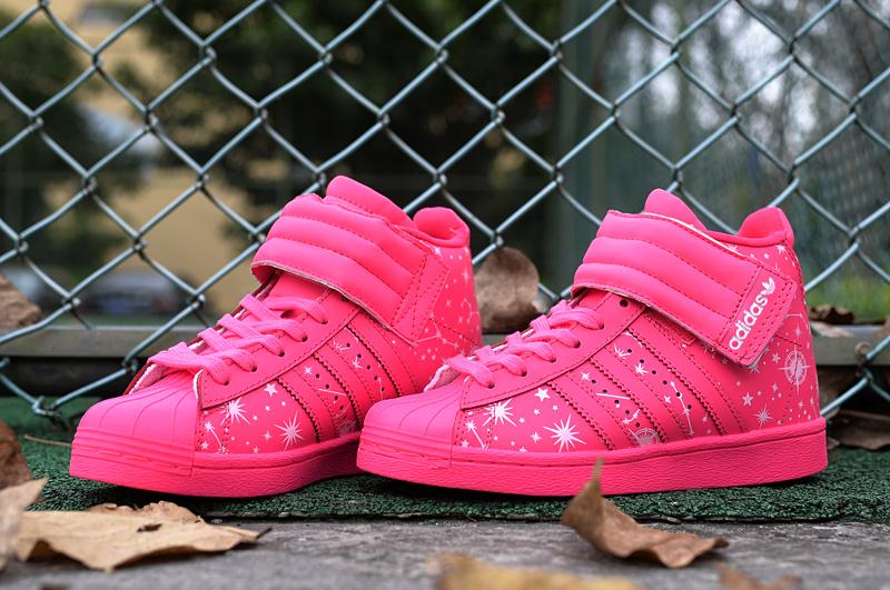watch 5f615 0efb3 Chaussures Adidas Intersport Pink Star Heel Nouveaux Amberli