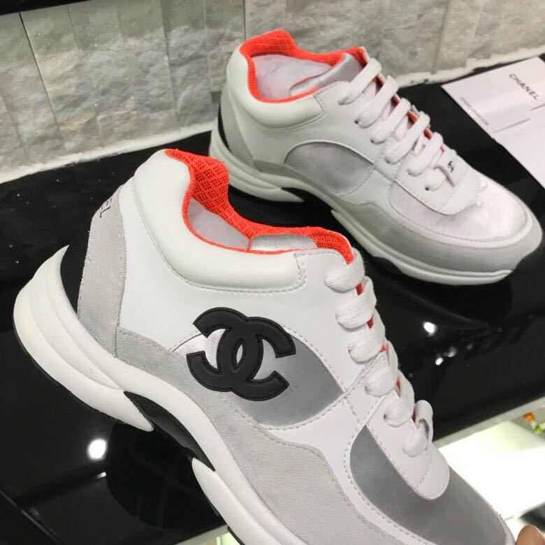 fbd73a157ee chaussure chanel femme occasion leisure sports chaussures orange ...
