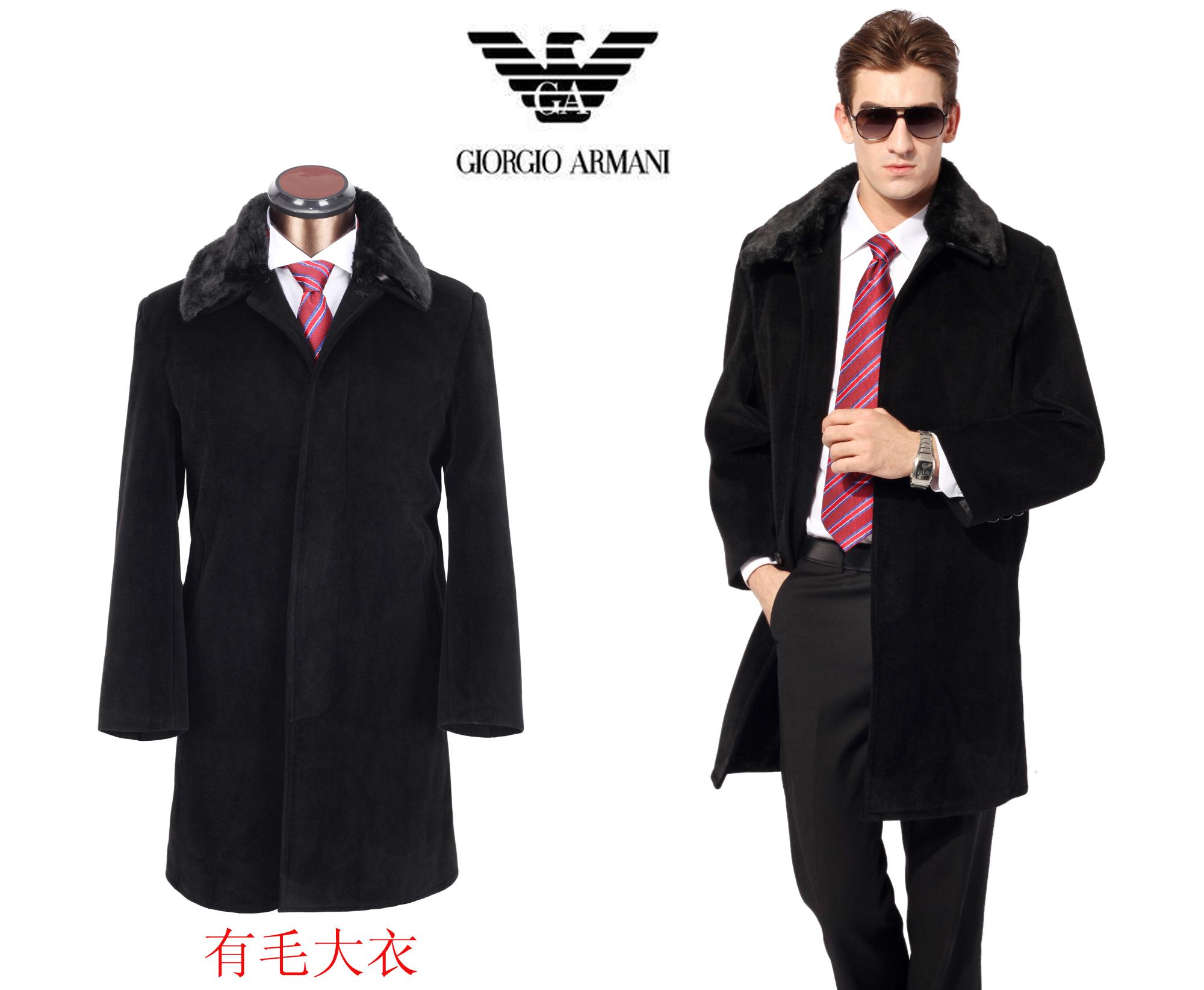 0e476f34b07c costume emporio armani hommes nouveau manteau de laine nouveaux ...