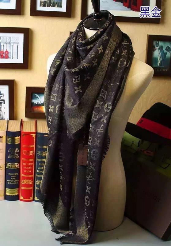 foulard louis vuitton chaudes femmes col chale star hiver nouveaux ... ff4df5d46d5