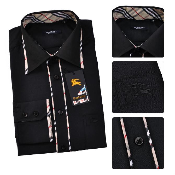 320631c7d34 hommes burberry chemises noir nouveaux