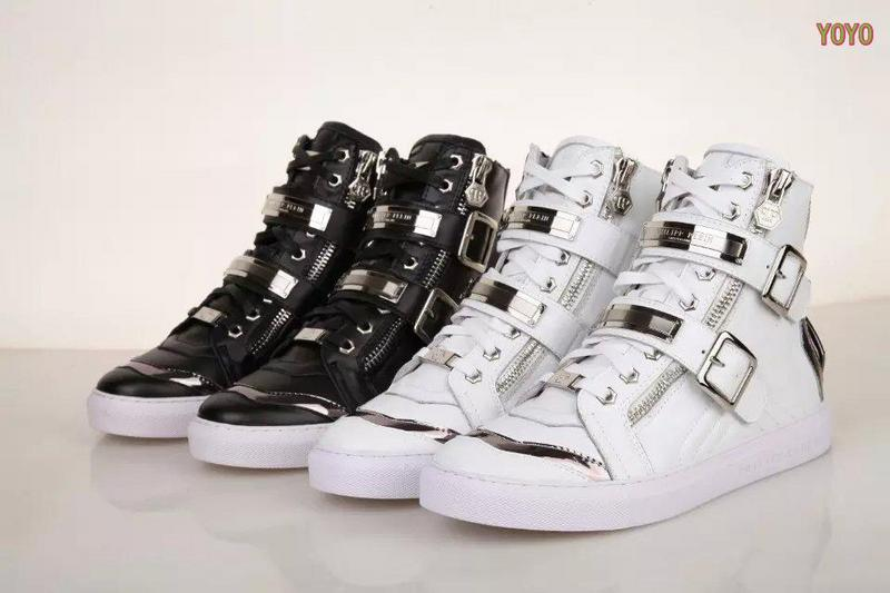 c760c27f19f mode chaussures hommes philipp plein haut high metal head nouveaux ...