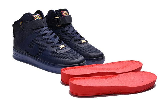 low priced fbf9f e57d0 nike air force 1 high sneaker premium nuit de glace nouveaux,arrivee ...