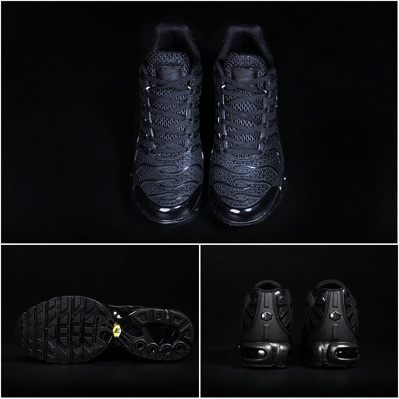 timeless design 09388 6cc8e nike chaussures tn requin durable explosion des modeles black edition
