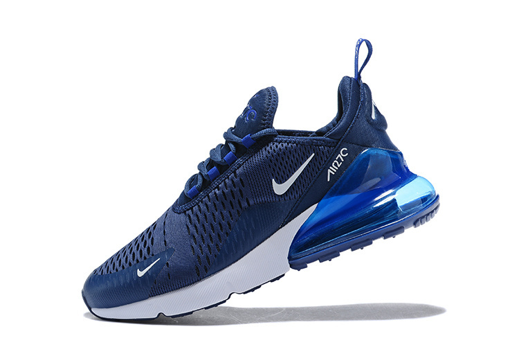 exclusive deals buy good hot sale nike chaussures air max 270 flyknit running blue nouveaux,arrivee ...