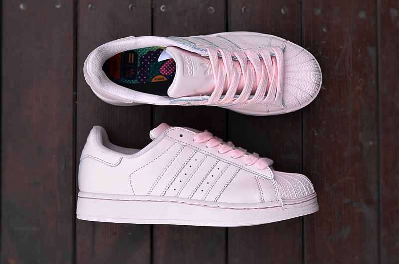 Shell short Pink Chaussures 2015 Collection Nouvelle Adidas De Face TF1lKJ3c