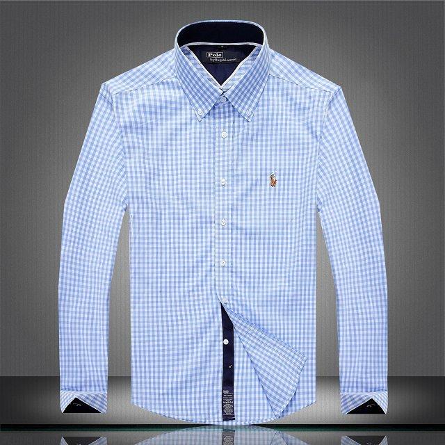 665fb736bf115 ralph lauren chemise enzo di milano 2019U coton hommes 2314 bleu ...