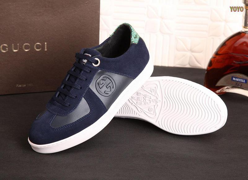 b1280d4bff6 soldes chaussures gucci hommes melange de couleurs double-g serpent ...